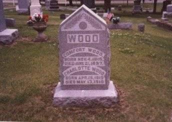 WOOD, CHARLOTTE - Clinton County, Iowa   CHARLOTTE WOOD