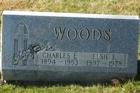 WOODS, CHARLES E. - Clinton County, Iowa | CHARLES E. WOODS