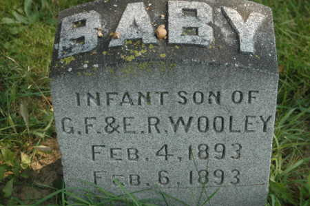 WOOLEY, INFANT SON - Clinton County, Iowa | INFANT SON WOOLEY