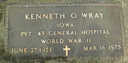 WRAY, KENNETH O. - Clinton County, Iowa   KENNETH O. WRAY