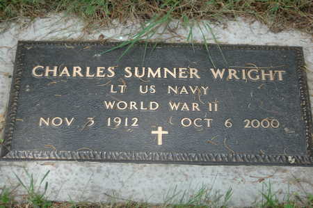 WRIGHT, CHARLES SUMNER - Clinton County, Iowa | CHARLES SUMNER WRIGHT