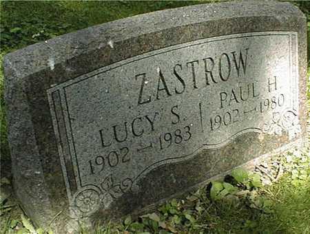 ZASTROW, LUCY S. - Clinton County, Iowa | LUCY S. ZASTROW