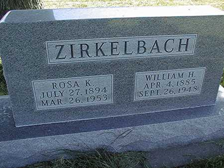 ZIRKELBACH, WILLIAM H. - Clinton County, Iowa | WILLIAM H. ZIRKELBACH