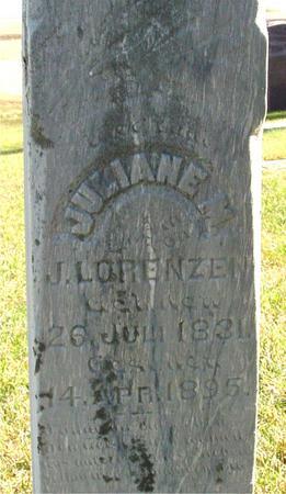 LORENZEN, JULIANE M. - Crawford County, Iowa | JULIANE M. LORENZEN