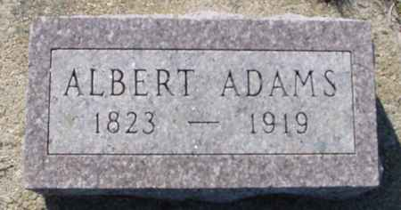 ADAMS, ALBERT - Crawford County, Iowa | ALBERT ADAMS