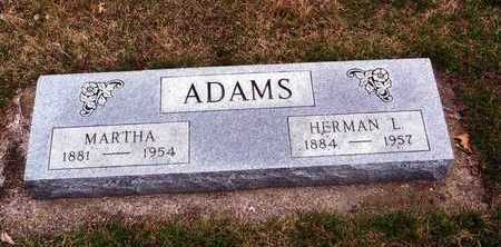 ADAMS, HERMAN - Crawford County, Iowa | HERMAN ADAMS