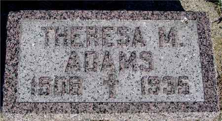 ADAMS, THERESA M. - Crawford County, Iowa | THERESA M. ADAMS