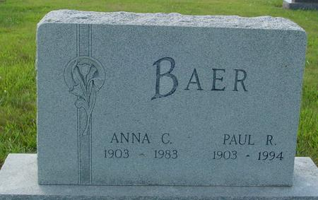 BAER, PAUL & ANNA - Crawford County, Iowa | PAUL & ANNA BAER