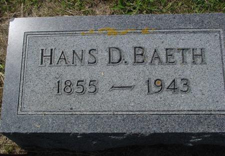 BAETH, HANS - Crawford County, Iowa | HANS BAETH