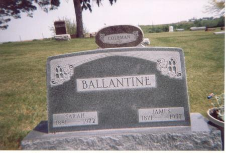 BALLANTINE, JAMES - Crawford County, Iowa | JAMES BALLANTINE