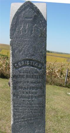 BARTELS, CHRISTIAN - Crawford County, Iowa | CHRISTIAN BARTELS