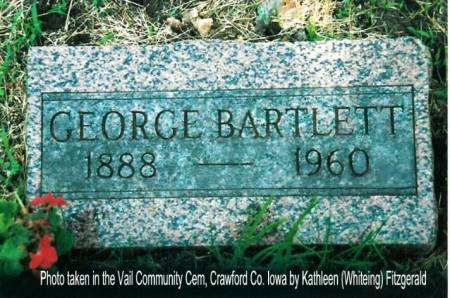 BARTLETT, GEORGE - Crawford County, Iowa | GEORGE BARTLETT