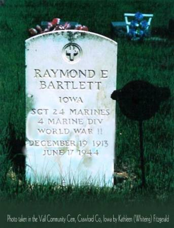 BARTLETT, RAYMOND E. - Crawford County, Iowa | RAYMOND E. BARTLETT