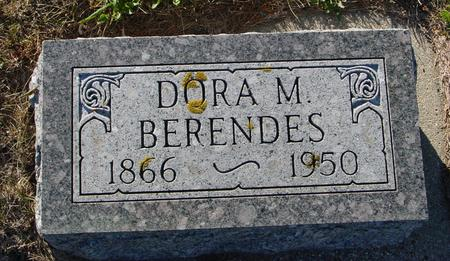 BERENDES, DORA - Crawford County, Iowa | DORA BERENDES