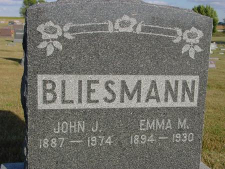 BLIESMAN, JOHN & EMMA - Crawford County, Iowa | JOHN & EMMA BLIESMAN