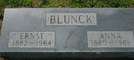 BLUNCK, ERNST & ANNA - Crawford County, Iowa | ERNST & ANNA BLUNCK