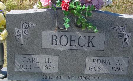 BOECK, CARL & EDNA - Crawford County, Iowa | CARL & EDNA BOECK