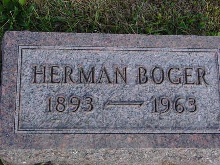 BOGER, HERMAN - Crawford County, Iowa | HERMAN BOGER