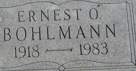 BOHLMANN, ERNEST O. - Crawford County, Iowa | ERNEST O. BOHLMANN