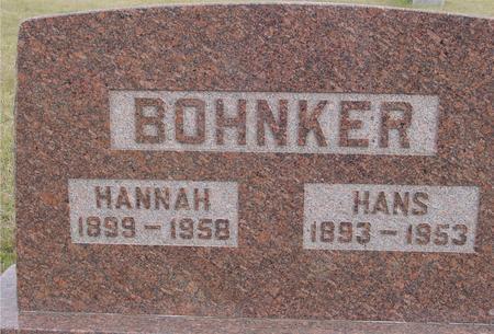 BOHNKER, HANS & HANNAH - Crawford County, Iowa | HANS & HANNAH BOHNKER
