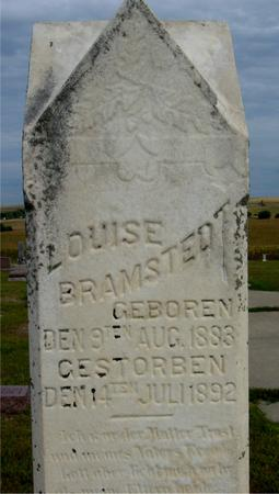 BRAMSTEDT, LOUISE - Crawford County, Iowa | LOUISE BRAMSTEDT