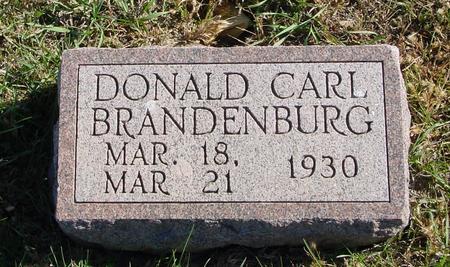 BRANDENBURG, DONALD CARL - Crawford County, Iowa | DONALD CARL BRANDENBURG