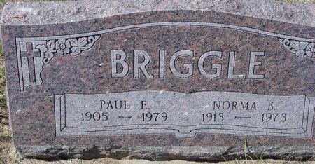 BRIGGLE, PAUL & NORMA - Crawford County, Iowa   PAUL & NORMA BRIGGLE