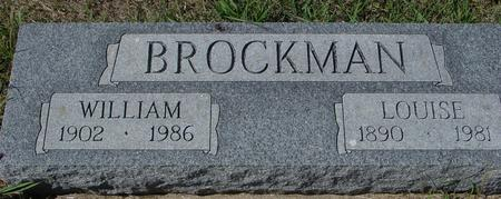 BROCKMAN, WILLIAM & LOUISE - Crawford County, Iowa | WILLIAM & LOUISE BROCKMAN