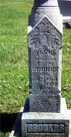 BRODERS, JACOB - Crawford County, Iowa | JACOB BRODERS