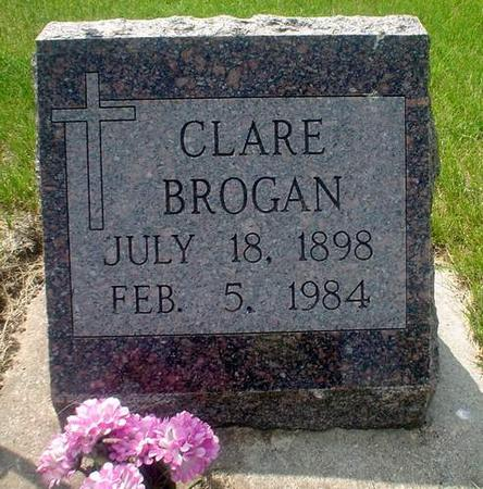 BROGAN, CLARE - Crawford County, Iowa | CLARE BROGAN