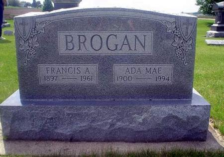 BROGAN, FRANCES A. - Crawford County, Iowa | FRANCES A. BROGAN