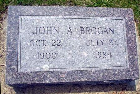 BROGAN, JOHN A. - Crawford County, Iowa | JOHN A. BROGAN