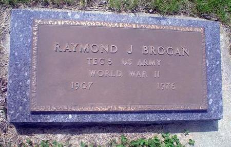 BROGAN, RAYMOND J. - Crawford County, Iowa | RAYMOND J. BROGAN