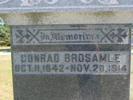 BROSAMLE, CONRAD - Crawford County, Iowa | CONRAD BROSAMLE