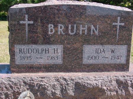 BRUHN, RUDOLPH & IDA - Crawford County, Iowa | RUDOLPH & IDA BRUHN