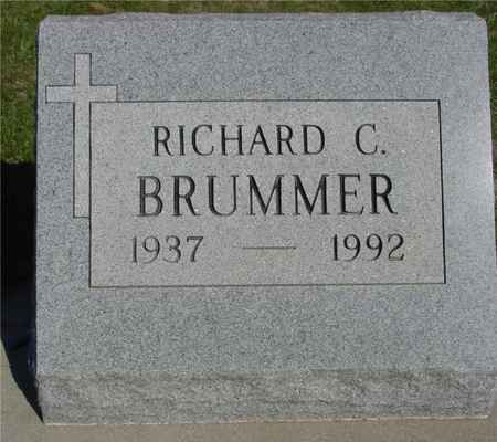 BRUMMER, RICHARD C. - Crawford County, Iowa | RICHARD C. BRUMMER
