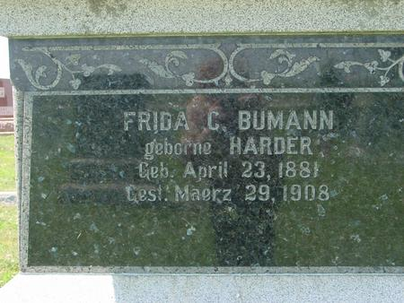BUMANN, FRIDA C. - Crawford County, Iowa | FRIDA C. BUMANN
