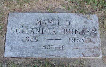 HOLLANDER BUMANN, MAMIE D. - Crawford County, Iowa | MAMIE D. HOLLANDER BUMANN