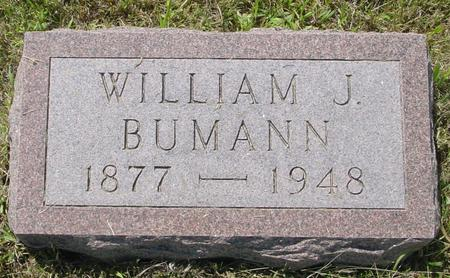 BUMANN, WILLIAM J. - Crawford County, Iowa | WILLIAM J. BUMANN