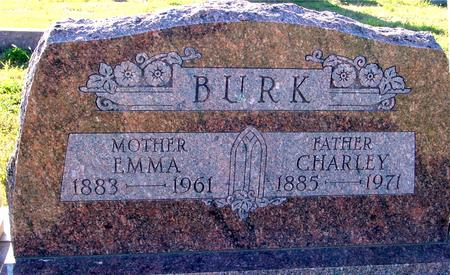 BURK, CHARLEY & EMMA - Crawford County, Iowa | CHARLEY & EMMA BURK