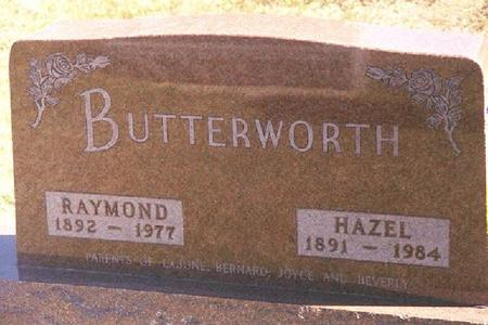 WILLIAMSON BUTTERWORTH, LORA HAZEL - Crawford County, Iowa | LORA HAZEL WILLIAMSON BUTTERWORTH