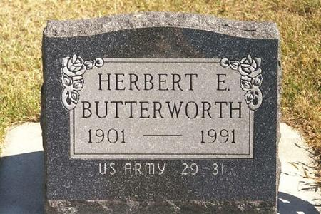 BUTTERWORTH, HERBERT - Crawford County, Iowa | HERBERT BUTTERWORTH