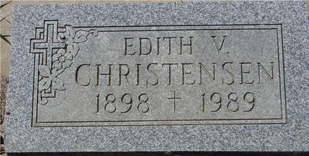 CHRISTENSEN, EDITH V. - Crawford County, Iowa | EDITH V. CHRISTENSEN