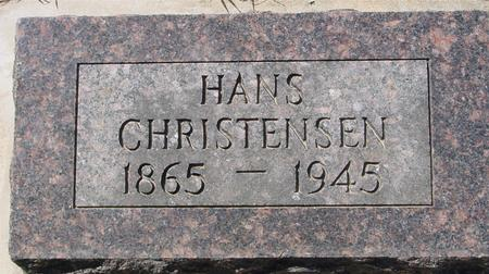 CHRISTENSEN, HANS - Crawford County, Iowa | HANS CHRISTENSEN