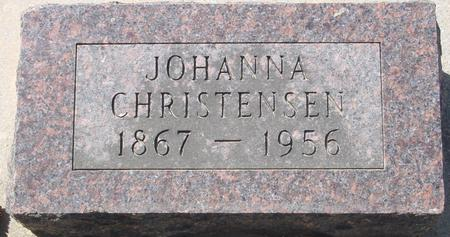 CHRISTENSEN, JOHANNA - Crawford County, Iowa | JOHANNA CHRISTENSEN