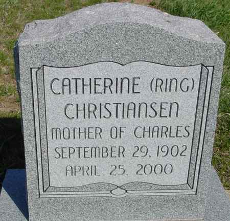 RING CHRISTIANSEN, CATHERINE - Crawford County, Iowa | CATHERINE RING CHRISTIANSEN