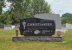 CHRISTIANSEN, ALICE - Crawford County, Iowa | ALICE CHRISTIANSEN