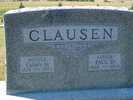 CLAUSEN, PAUL & EMMA - Crawford County, Iowa | PAUL & EMMA CLAUSEN