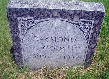 CODY, RAYMOND - Crawford County, Iowa | RAYMOND CODY