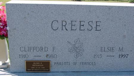 CREESE, CLIFFORD & ELSIE - Crawford County, Iowa | CLIFFORD & ELSIE CREESE
